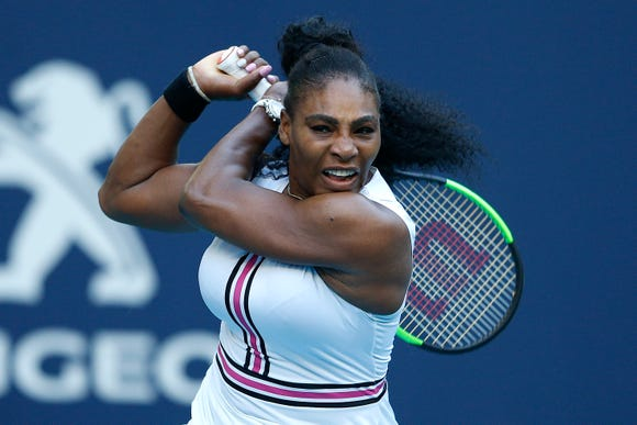 """Serena Williams says Olympia playing with tennis rackets is """"history in the making."""""""