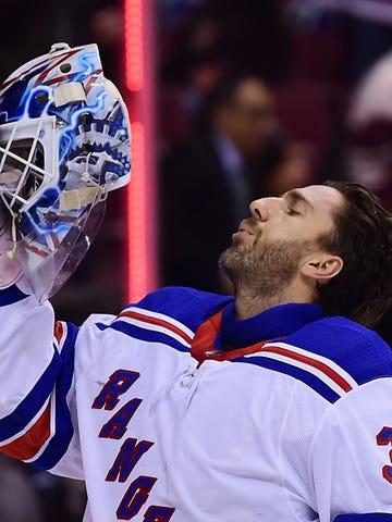 King Clancy finalist: Henrik Lundqvist, New York Rangers