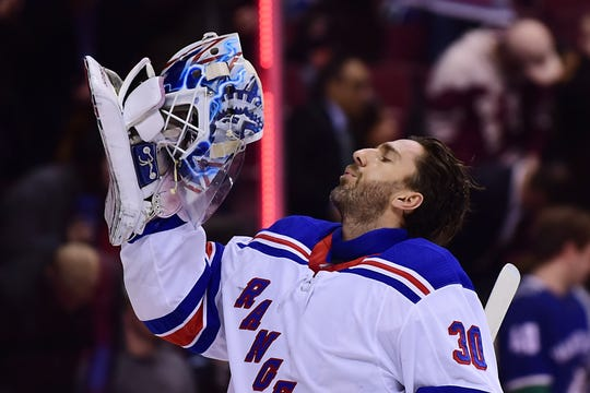 Henrik Lundqvist will be 37 this season with two years remaining on his contract with the New York Rangers.