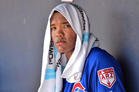 Addison Russell was suspended 40 games by MLB for domestic violence policy.
