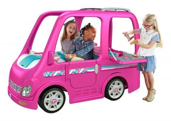 Fisher-Price voluntarily recalled about 44,000 Children's Power Wheels Barbie Dream Campers.