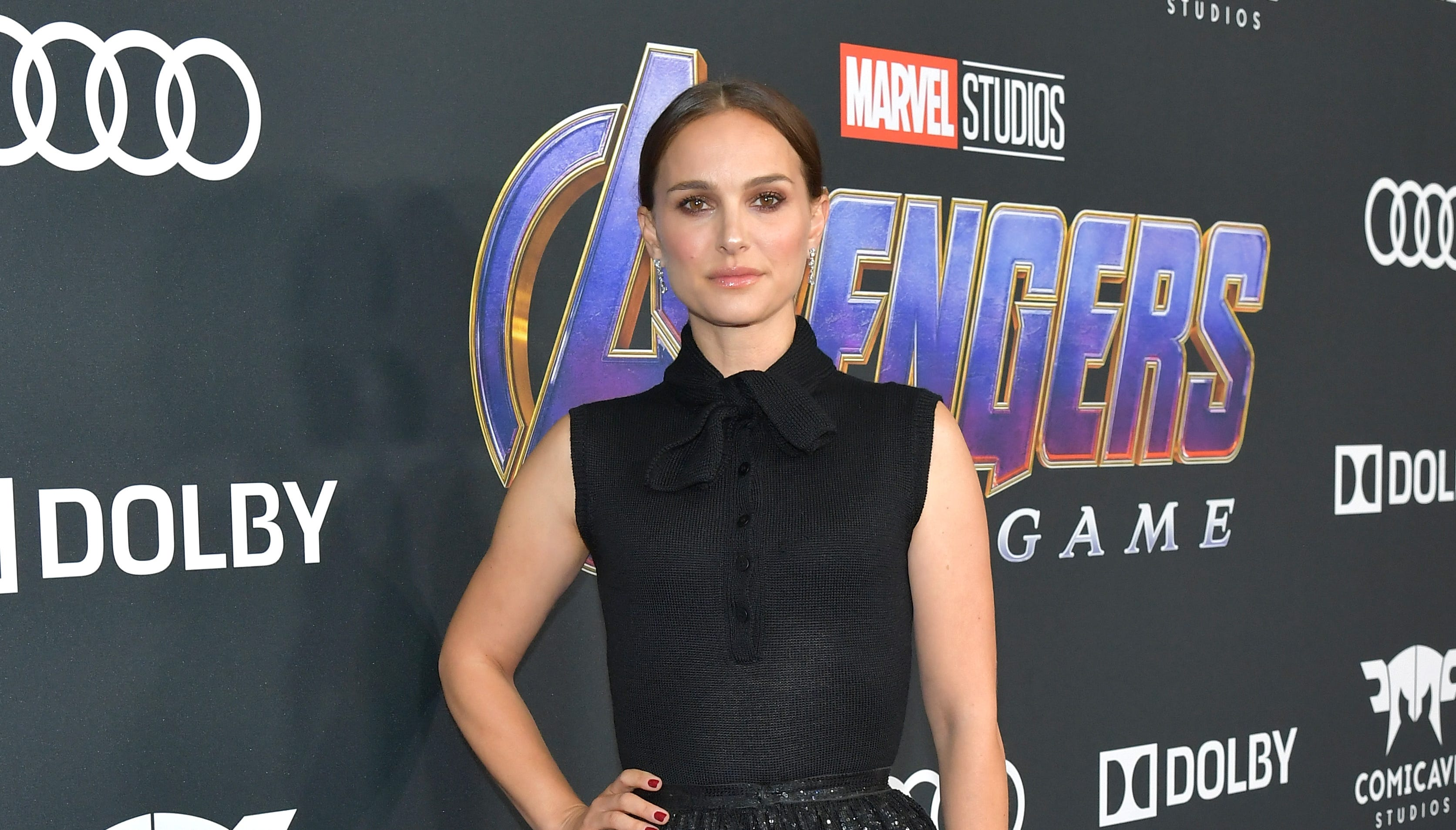 Why Natalie Portman was at the 'Avengers: Endgame' premiere and Tom Holland wasn't - USA TODAY