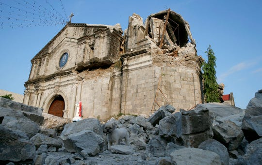 New 6.3 magnitude earthquake hits Philippines, a day after temblor kills 11
