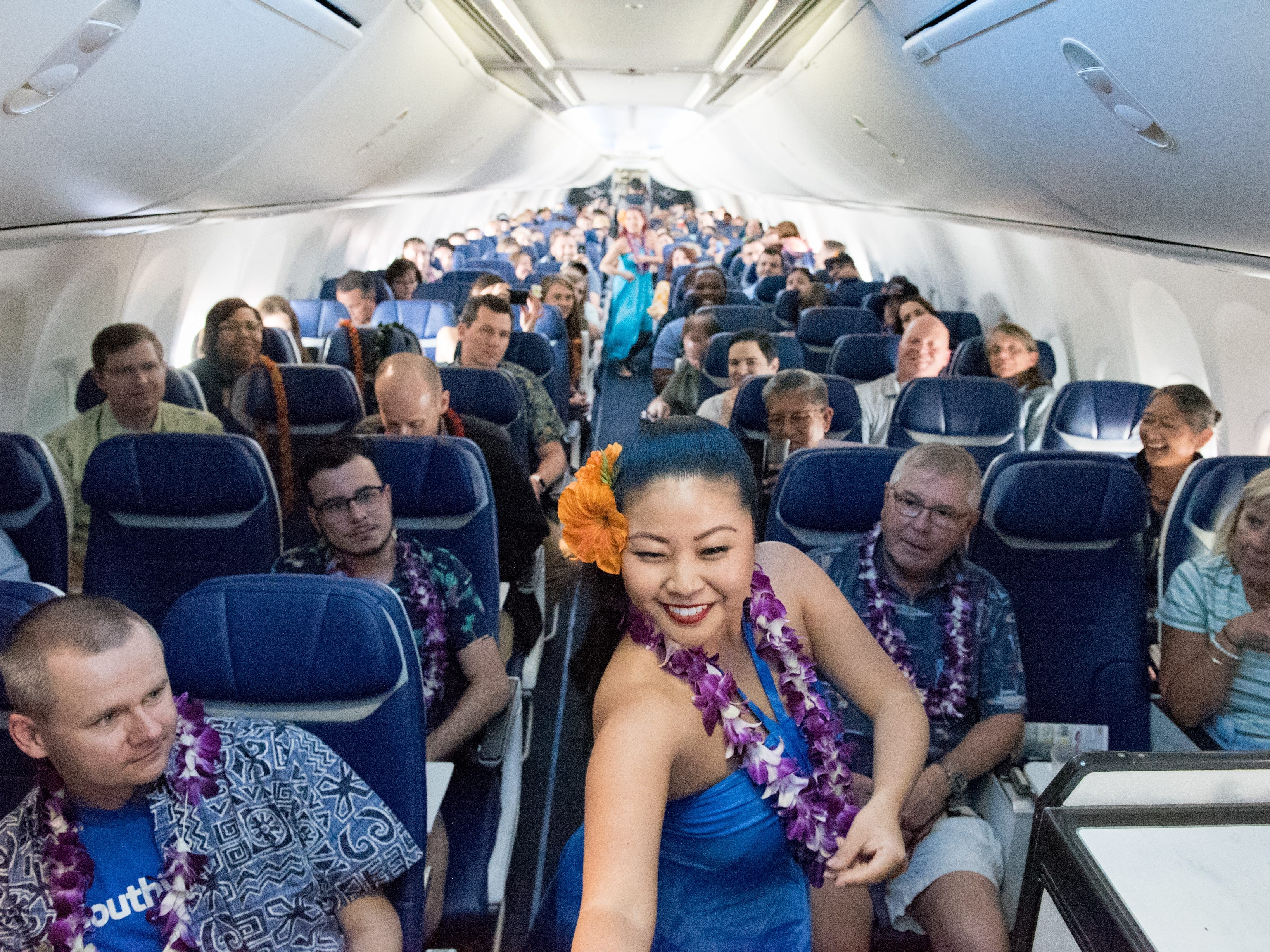 Southwest Airlines debuted their inaugural flight to Hawaii from Oakland to Honolulu in March.