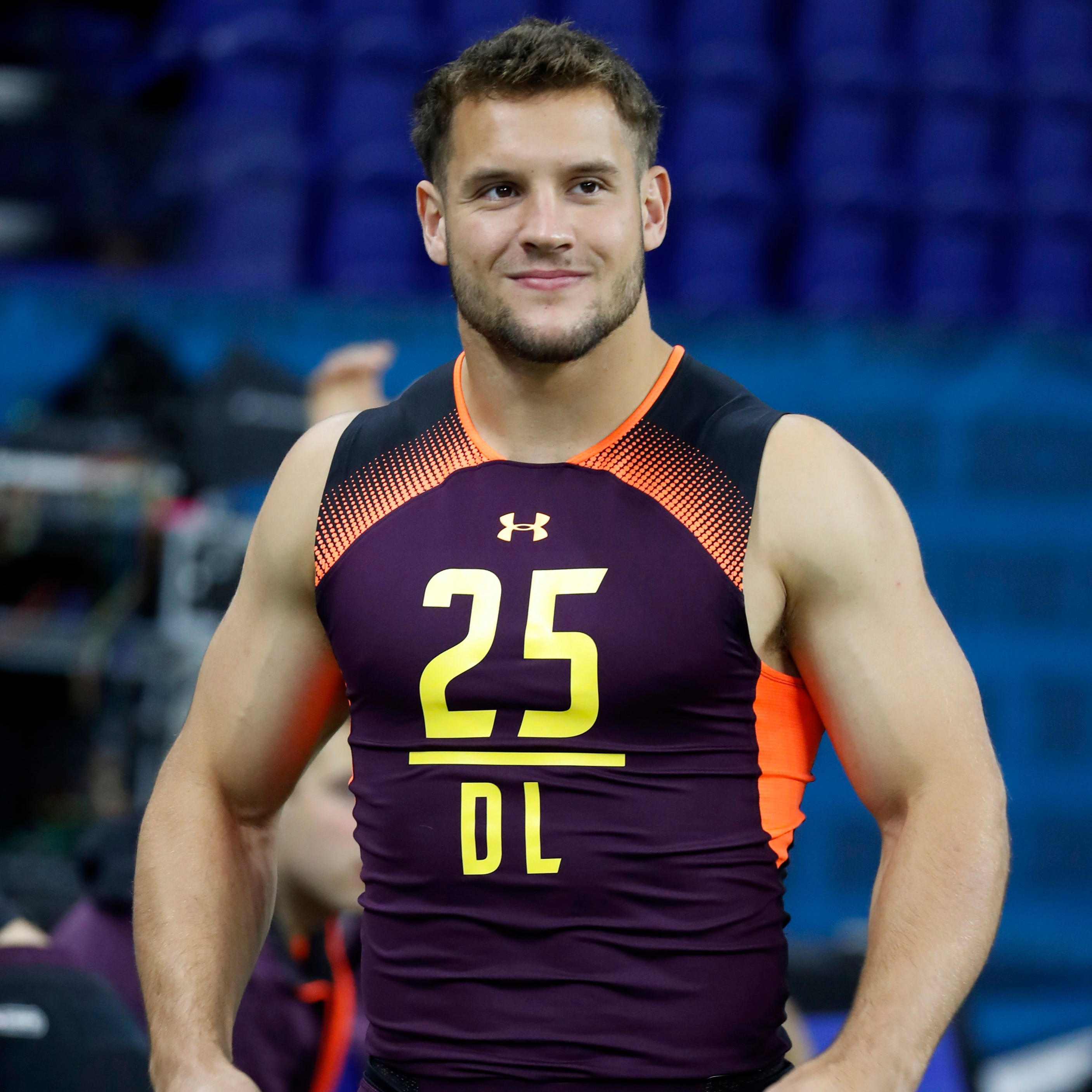 Ohio State's Nick Bosa figures to be among the...