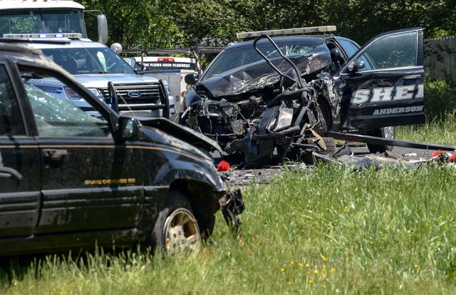 Anderson County deputy charged in South Carolina car crash