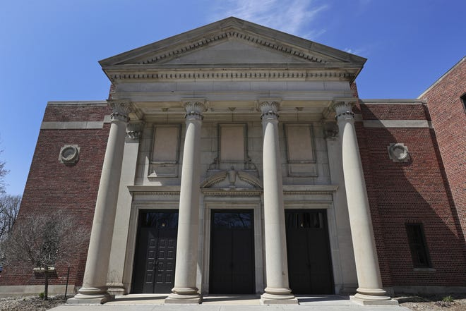 The Menasha High School auditorium dates to 1938. The school board is seeking applicants to fill a recently vacated spot on the board.