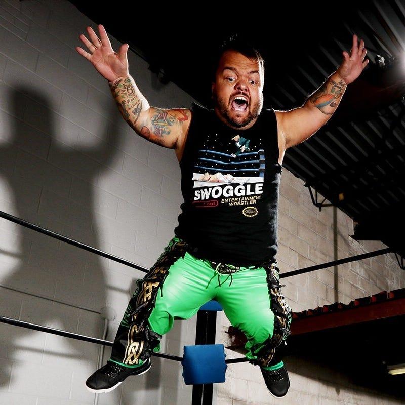 Dylan Postl, aka Hornswoggle, talks ACW Wisconsin before Saturday's arena takeover