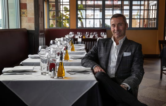 Joseph Cetrulo owns Stella Marina Bar & Restaurant in Asbury Park. Photos taken 4/17/19 in Asbury Park.