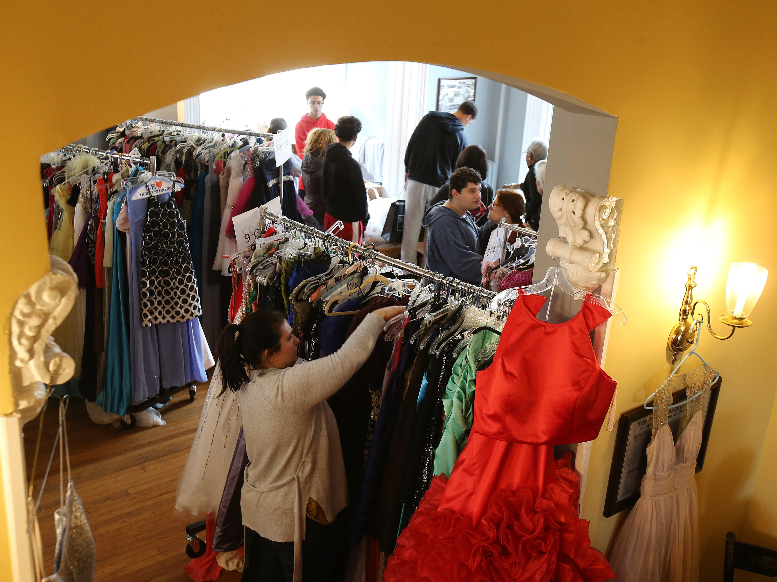 Lunch Break's 4th Annual Prom Giveaway Event at the Woman's Club of Red Bank in Red Bank, NJ Monday, April 22, 2019.