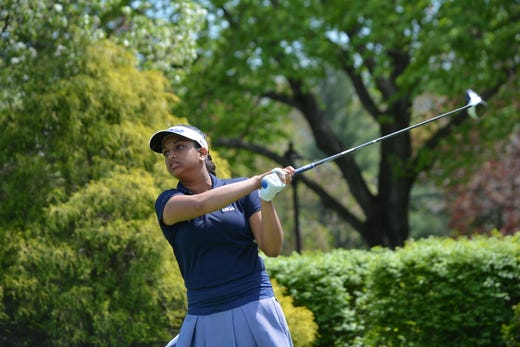 Holmdel's Megha Ganne qualified for the U.S. Women's Open on Tuesday in sectional qualifying at Forsgate Country Club in Jamesburg.