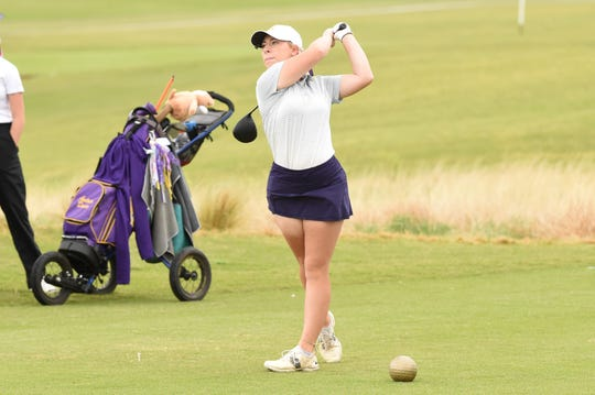 Andrea Davis and the Wylie girls golf team overcame a seven-shot deficit at the Region I-5A tournament to qualify for state on Monday at the White Wing Golf Club in Georgetown.