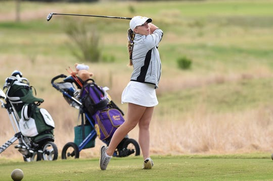Andrea Davis and the Wylie girls golf team will open the Class 5A state tournament on Monday at the White Wing Golf Club in Georgetown. It is the second-straight state appearance for the Lady Bulldogs.