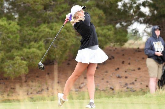Wylie's Arin Zachary had one of her best outings at the Region I-5A tournament earlier this week in Lubbock. The senior tied for sixth at The Rawls Course and helped the Lady Bulldogs qualify for the 5A state tournament