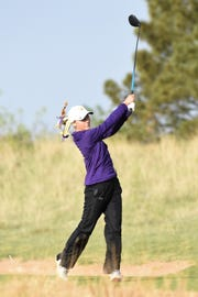 Wylie's Brylee Valentine is one of three seniors finishing their high school careers at the Class 5A state tournament in May. The Lady Bulldogs have grown during her four years in the program.
