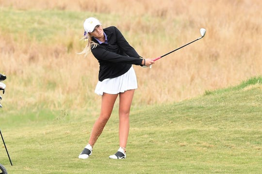 Wylie's Arin Zachary and two other seniors will finish their careers at the Class 5A state tournament at the White Wing Golf Club in Georgetown on Monday and Tuesday.