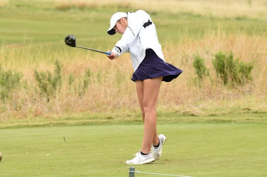 Wylie's Maddi Olson is making her third state tournament this season after the Lady Bulldogs finished third at the Region I-5A tournament earlier this week. Olson has been a boost for the program, but the seniors have led the way.