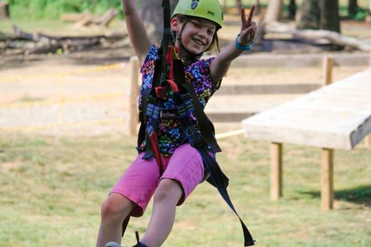 KidZip at the Adventure Center of Asheville is for ages 4-10.
