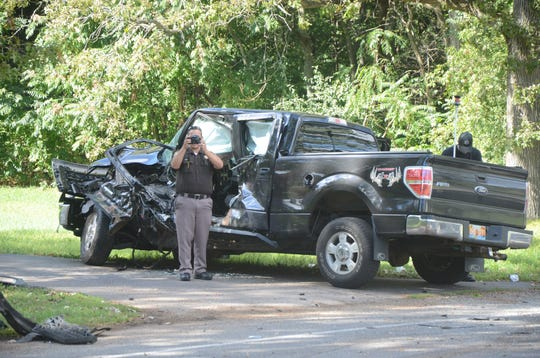 One person was killed in this crash in September 2018 in Calhoun County's Pennfield Township.