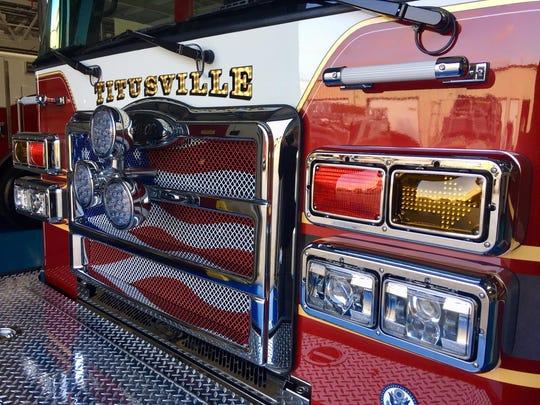 Titusville fire truck