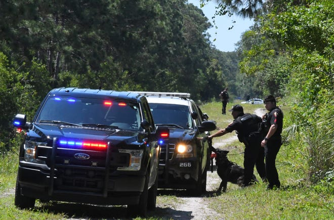 Brevard County Sheriff's Office, West Melbourne Police and Melbourne Police teamed up to recapture Teddy King, 28, who fled custody of deputies along Wickham Road, and hid in a wooded area. After an extensive search the including K-9 units and the BCSO helicopter, he was caught.