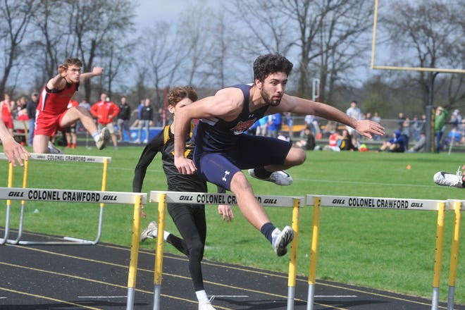Isaiah Alsip was ready to make his return to state in the 4x100 relay and potentially as an individual in hurdles.