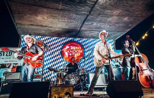 Two Tons of Steel will perform at the 23rd annual Texas Sandfest in Port Aransas on Friday, April 26, 2019.