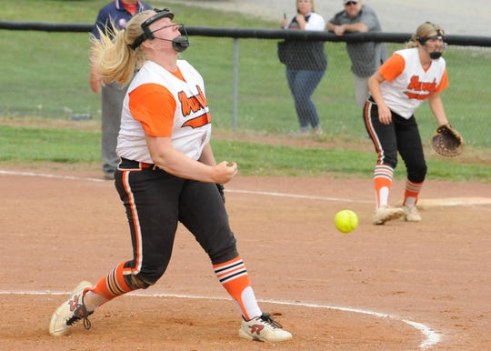 Waverly softball won a sectional final over River Valley on Wednesday 8-4.