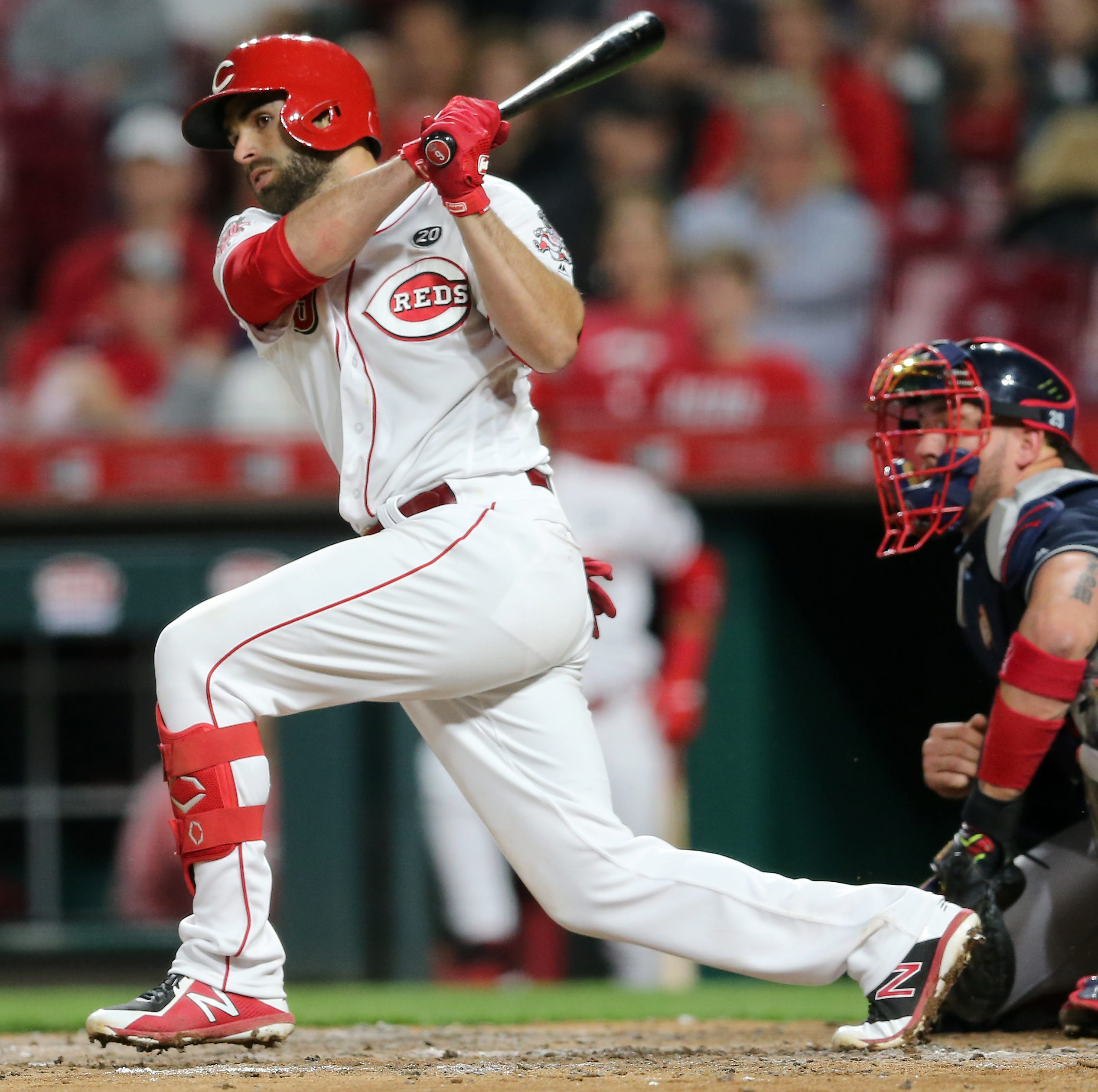 José Peraza moved to leadoff as the Cincinnati Reds try to ignite their offense