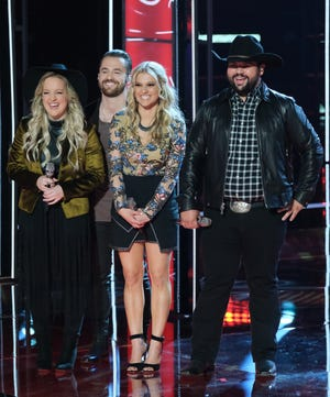 """One April 22 Live Cross Battle on """"The Voice"""" pitted Cincinnati trio The Bundys against Andrew Sevener."""