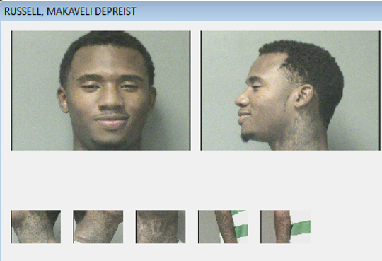 Makaveli Depriest Russell, 22, was arrested in Illinois and charged with homicide and robbery in connection to a fatal shooting of a Des Moines teenager.