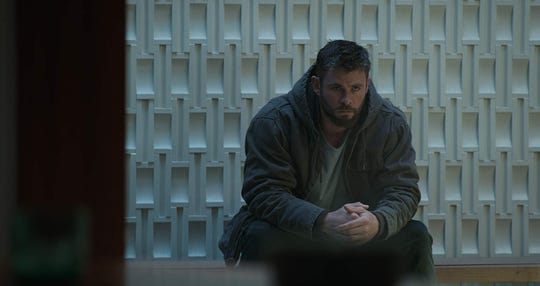 "Chris Hemsworth in ""Avengers: Endgame."""