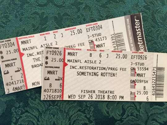 Student rush tickets are available at both the Detroit Opera House and Fisher Theatre for major performances. Seats are often in the first few rows and cost $25.