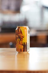 Whango (4.9% alcohol by volume) mango wheat fruit ale from Atwater Brewery, is available March through August.
