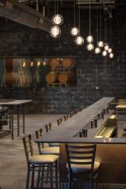Detroit Vineyards' tasting room and wine bar opens Friday.