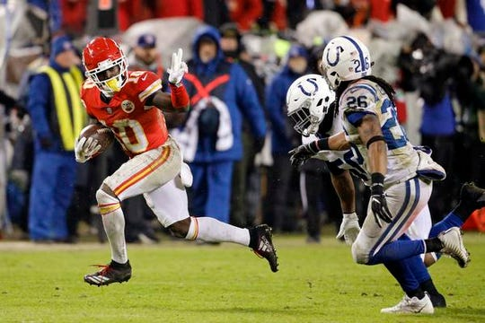 Chiefs wide receiver Tyreek Hill is dealing with another domestic violence incident that centers on his 3-year old child.