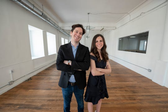Stephanie Steinberg and her husband Jake Serwer have founded the Detroit Writing Room where writers can have access to working space and writing coaches in downtown Detroit.
