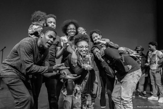 The winning team from the 2017 Louder Than a Bomb poetry festival. This year's competition happens Saturday and Sunday.