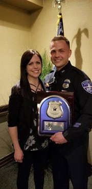 Evansville Police Officer Kyle Thiry was named the 2018 SWAT Officer of the Year by the Indiana SWAT Officers Association.