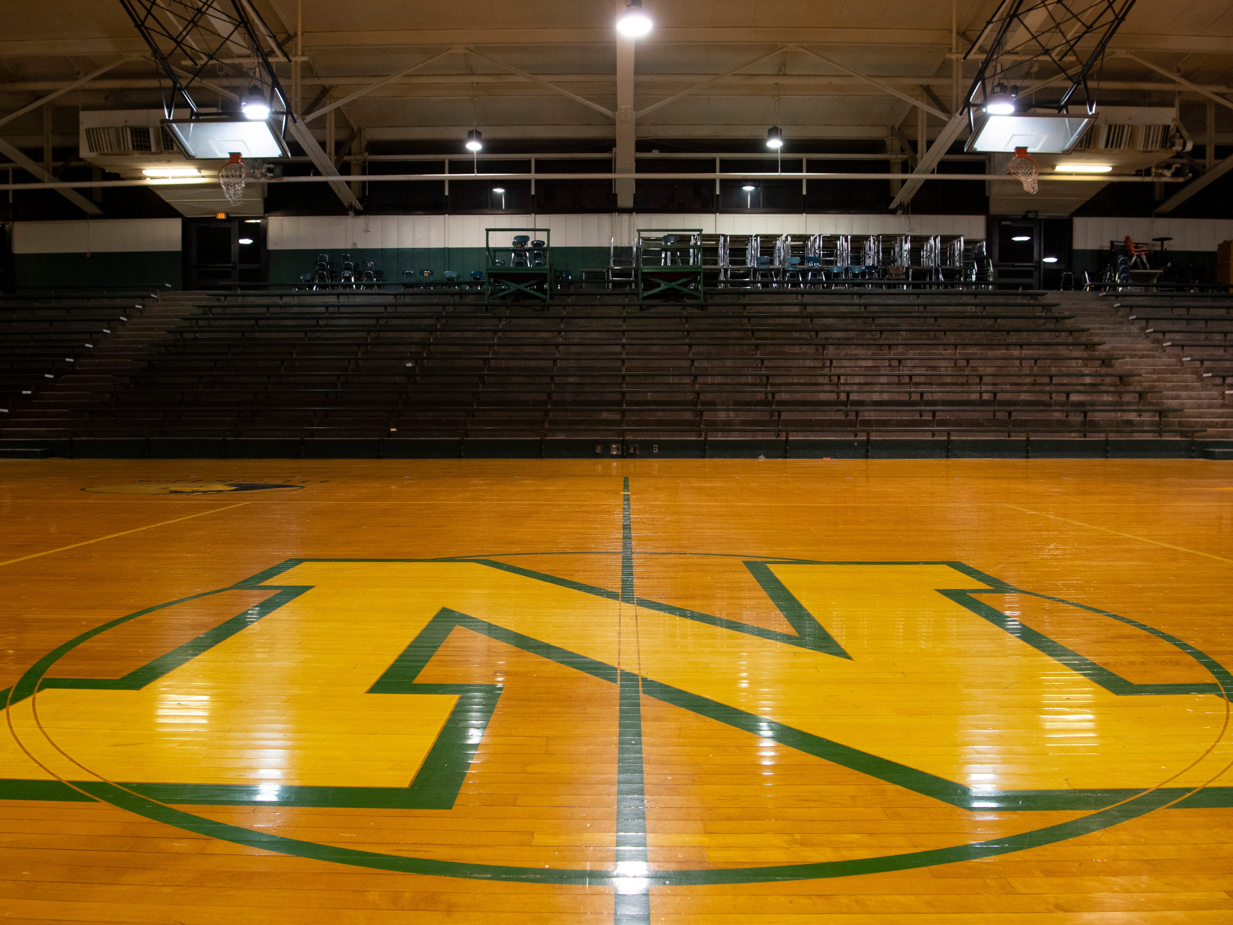 The old North High School gymnasium now sits vacant after the new school was built in Northern Vanderburgh County. It is mostly used for storage by the Evansville-Vanderburgh School Corporation.