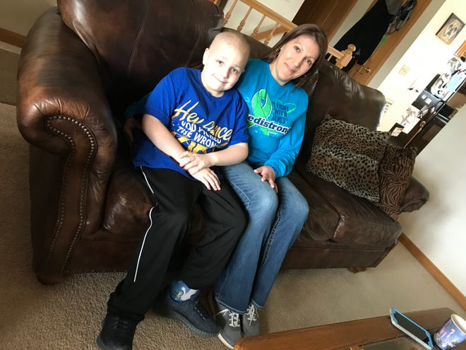 James Yedica and his mother, Melissa, talk about James' fight with cancer.