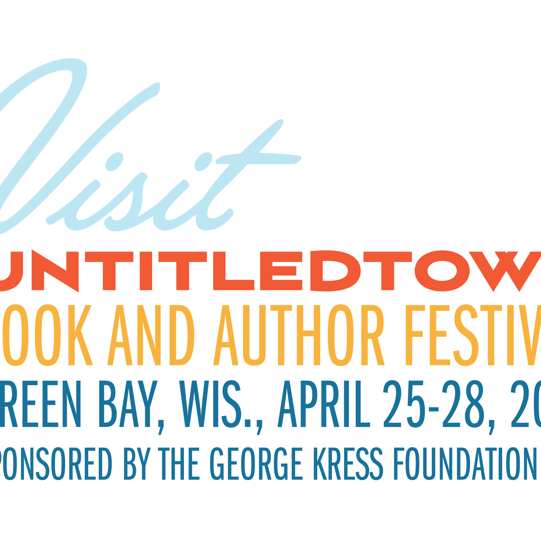 Book it to Green Bay for UntitledTown: 5 things to know about the book festival, now in its third year