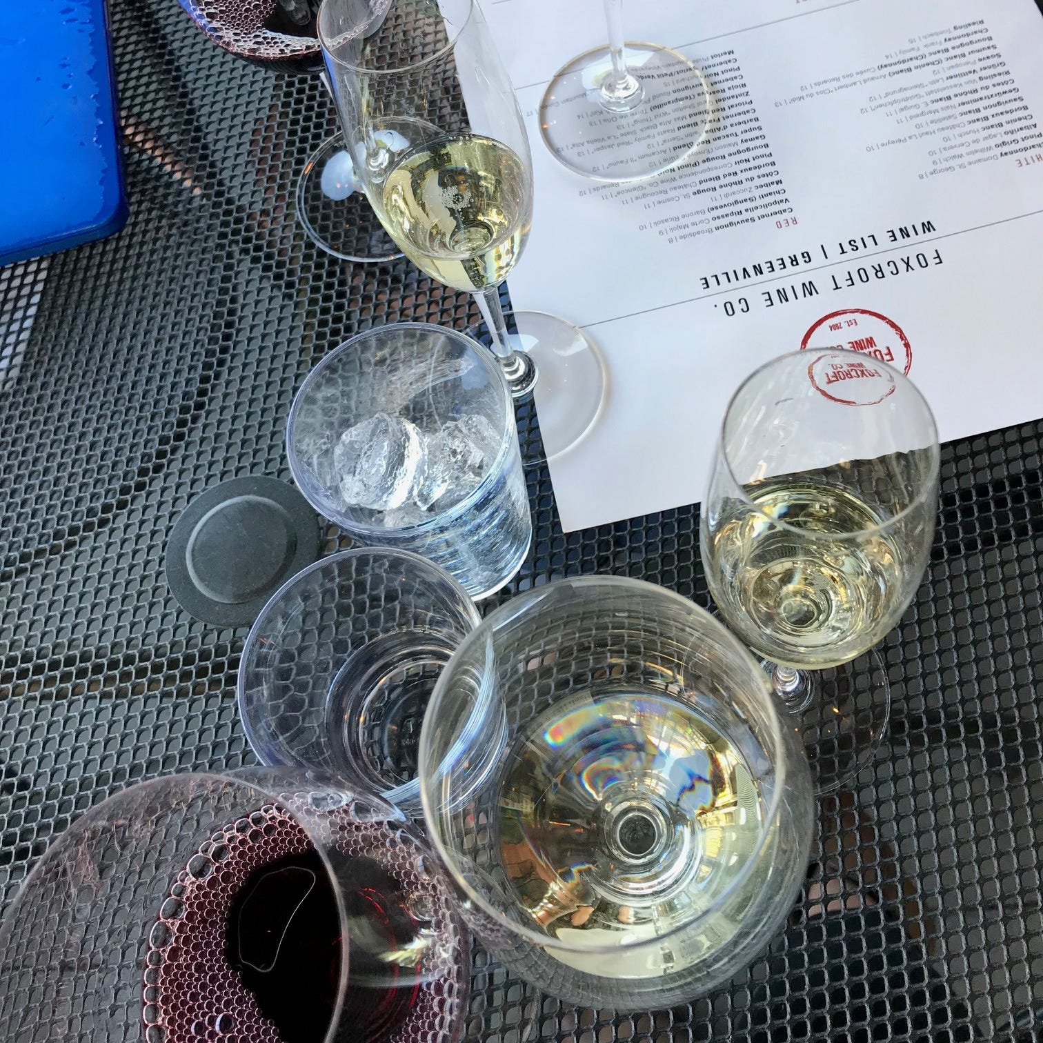 Wine in warmer months? No sweat Greenville. 4 tips and 14 places to enjoy a glass outside.