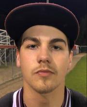 Henderson County junior pitcher Lake  Williams