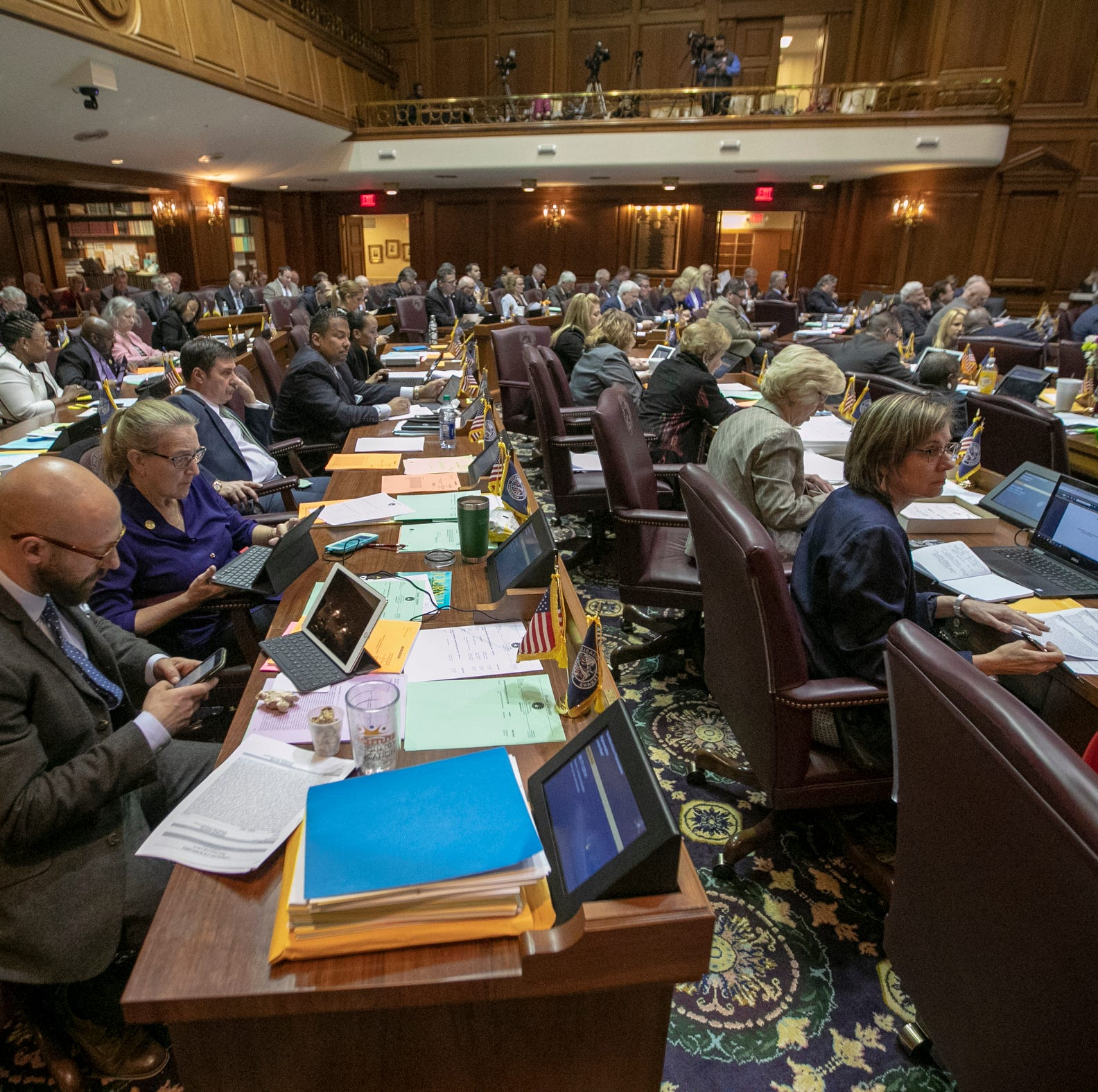 Here are 4 times Indiana lawmakers shaped controversial bills without public input in 2019