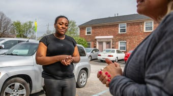 A local lawyer and his wife, who has asked to remain anonymous, have come forward to assist Latasha Sanders and her family.