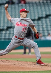 Hoosiers pitcher Gabe Bierman posted a 3.56 ERA in 20 appearances as a freshman last season.