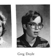 Gregg Doyel as a freshman at New Glarus High School in Wisconsin in 1985.