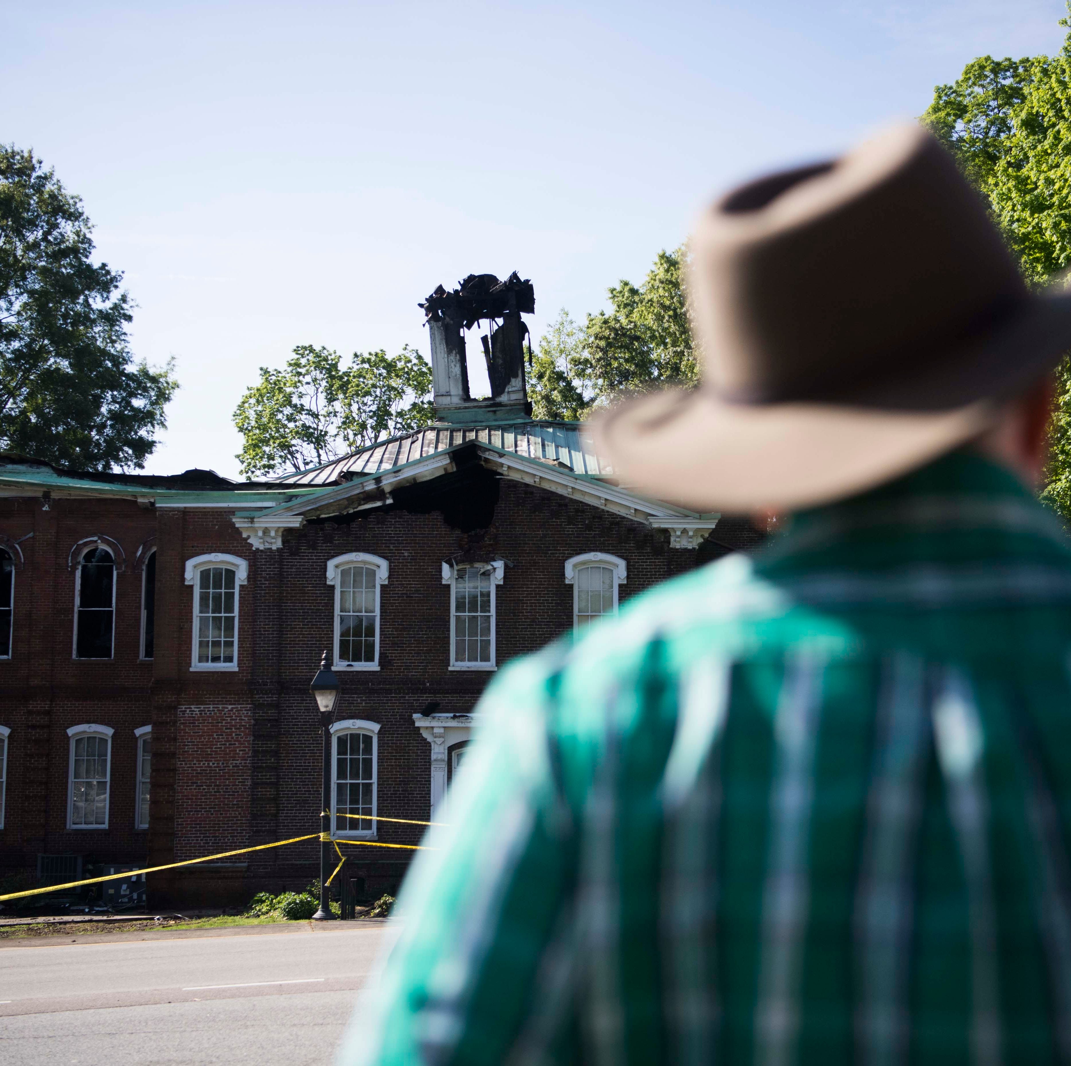 'A leap of faith': Officials enter burned Loudon County Courthouse to retrieve evidence