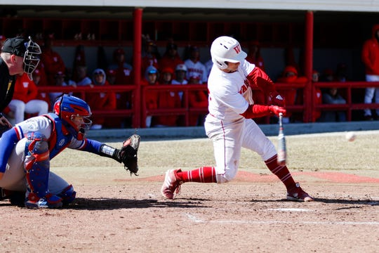 McCutcheon graduate Sean Roginski is approaching Wabash College's career hits record.